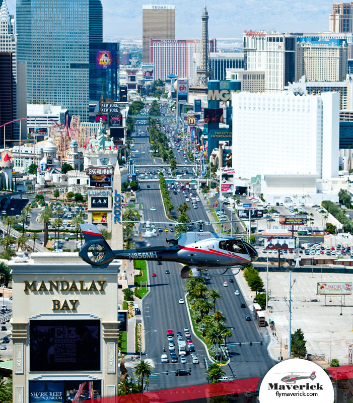 See Vegas from new heights with a city air tour.