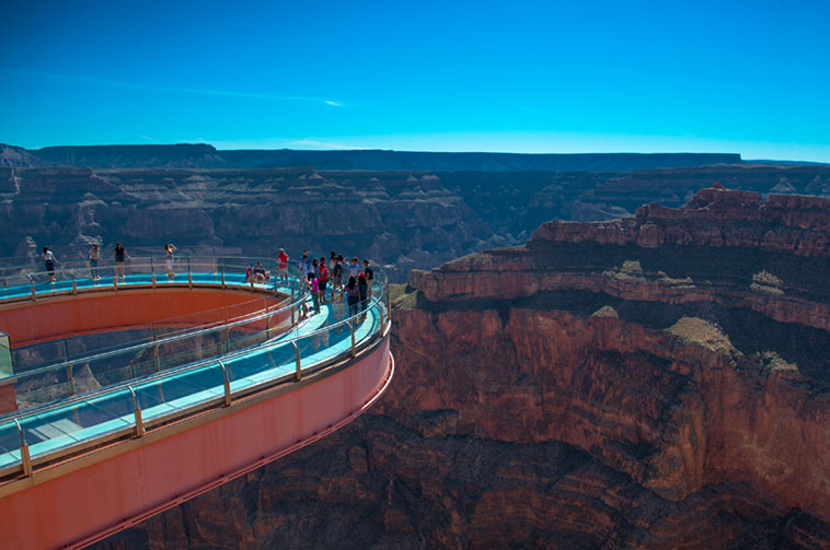 Skywalk Grand Canyon Helicopter Tours Mustang Tours