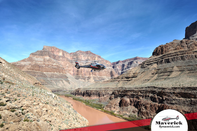 Experience a landing tour at the Grand Canyon.