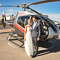 Let Maverick Helicopters plan your unique outdoor wedding day