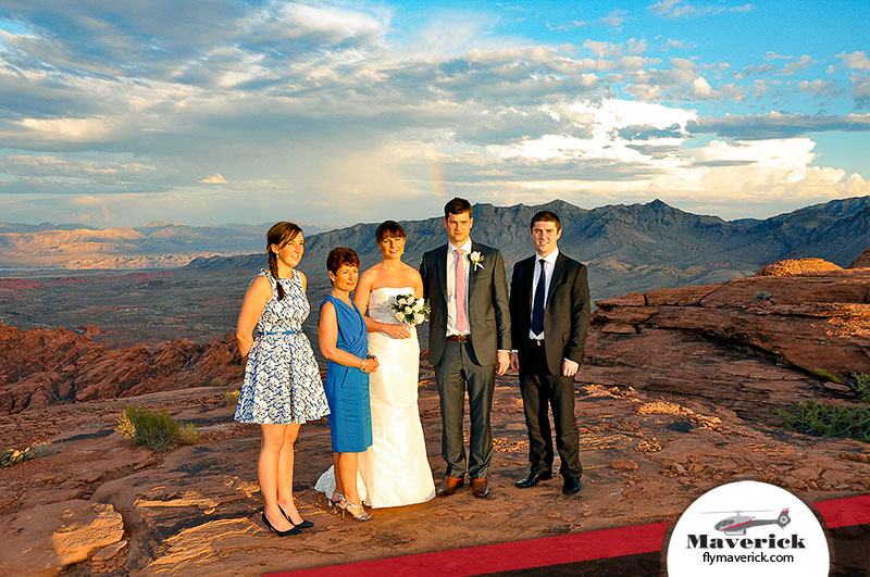 An Outdoor Wedding At The Valley Of Fire State Park