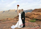 Valley of Fire Sunset Helicopter Weddings