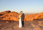 Book Valley of Fire Helicopter Wedding in Las Vegas