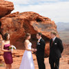 Intimate Valley of Fire Ceremony.