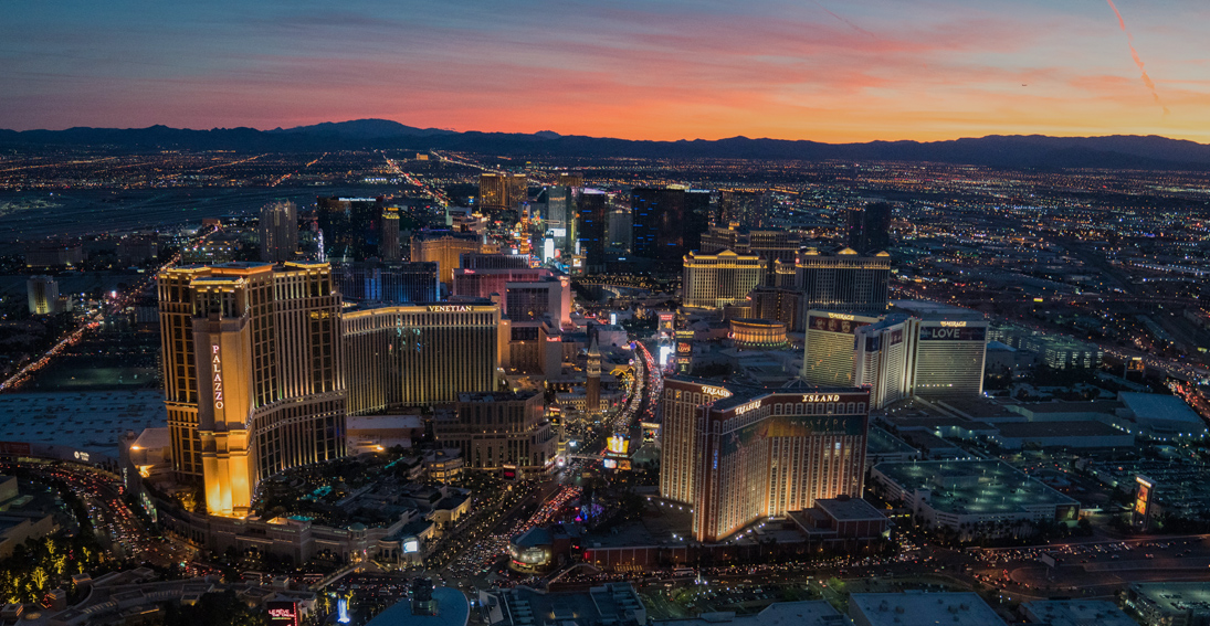 Engagement packages over the Las Vegas Strip with Maverick Helicopters