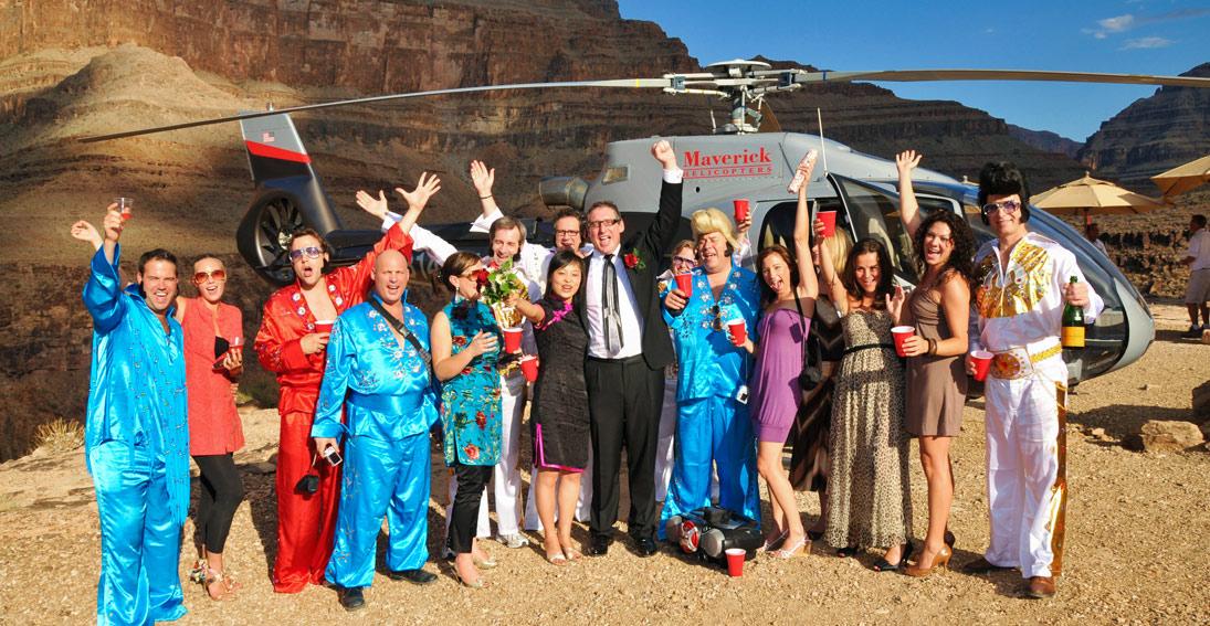 However small or large your wedding party a Grand Canyon wedding package is a unique option