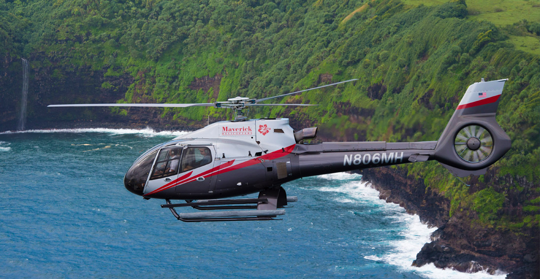 Let your memorable day begin with a Maui island helicopter tour