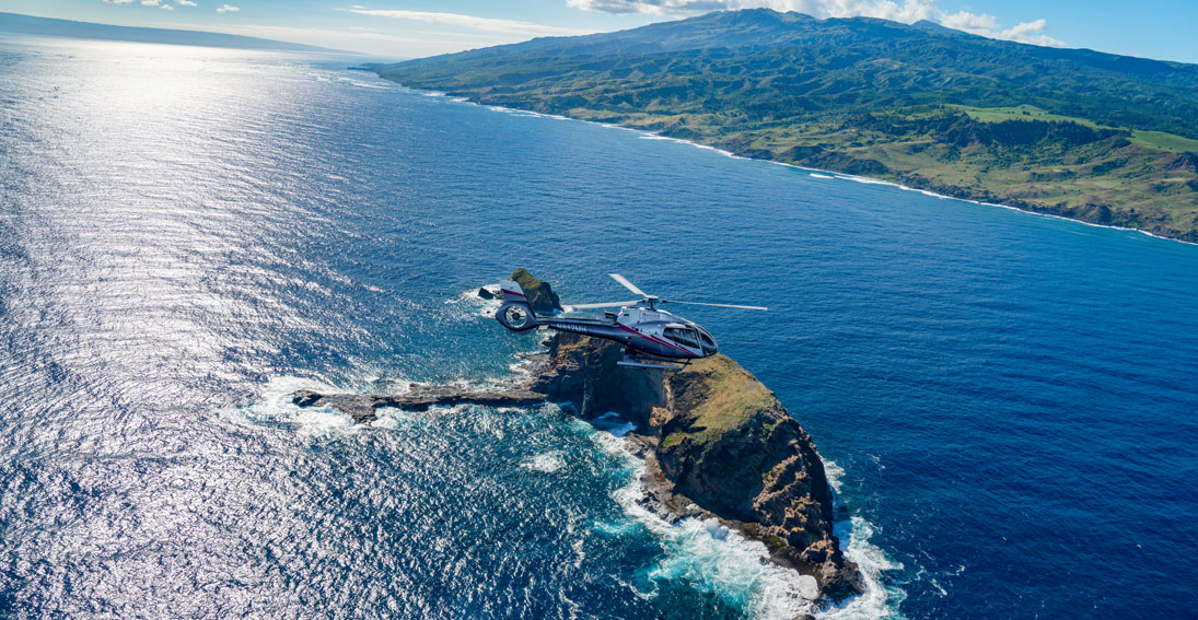 Up close and personal views of the beautiful waterfalls on your helicopter wedding