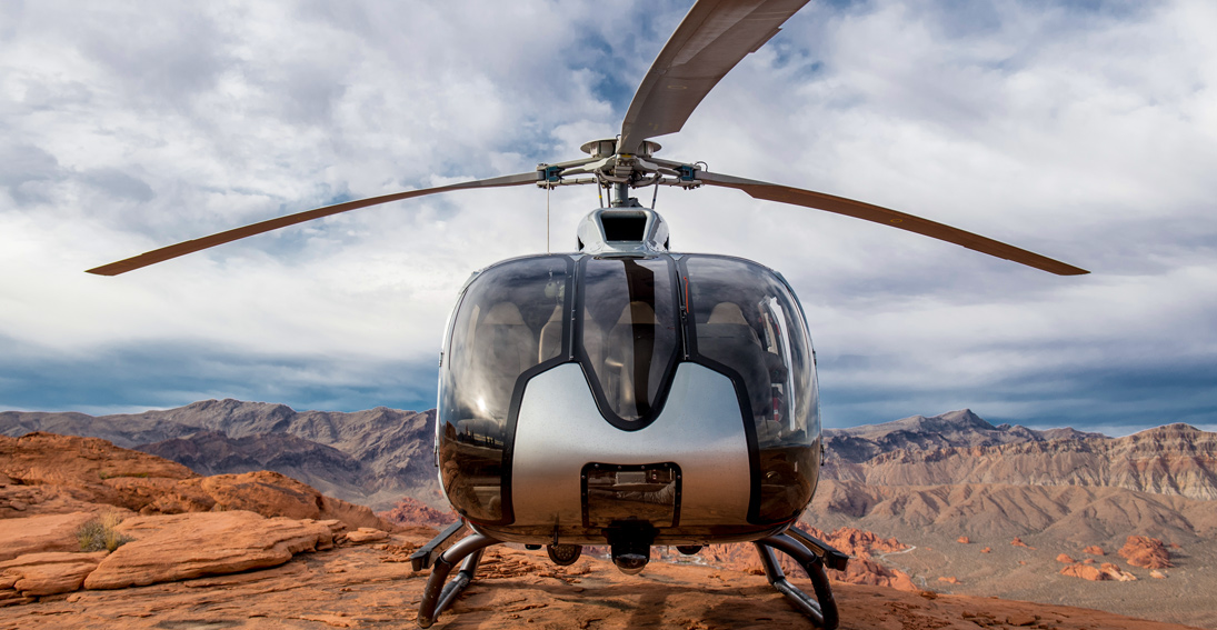 See the beauty of the Valley of Fire wedding with Maverick Helicopters