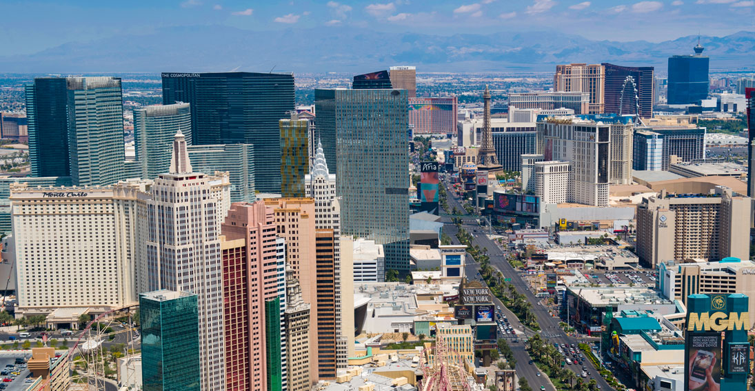 On your return enjoy views of the Las Vegas Strip